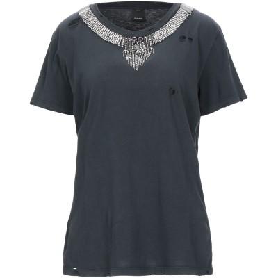 ピンコ PINKO T シャツ ブラック XS コットン 100% T シャツ