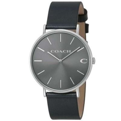 コーチ COACH 腕時計 14602150 CHARLES チャールズ グレー×ネイビー メンズ