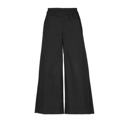 QL2  QUELLEDUE パンツ ブラック 38 コットン 97% / ポリウレタン 3% パンツ