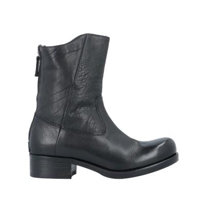 PAVIN ショートブーツ ブラック 38.5 革 ショートブーツ