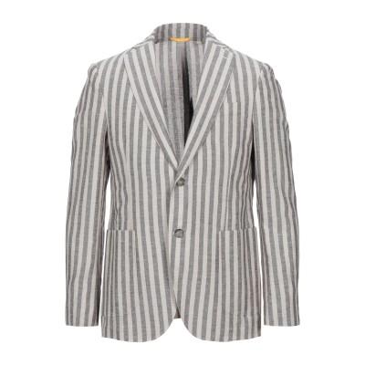 BRERAS Milano テーラードジャケット ベージュ 50 リネン 50% / コットン 25% / ポリエステル 25% テーラードジャケット
