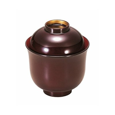 若泉漆器 食洗器対応お椀 姫小吸椀 溜つば金内朱 1-152-2 越前漆器