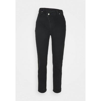 トレンドヨル デニムパンツ レディース ボトムス Relaxed fit jeans - black