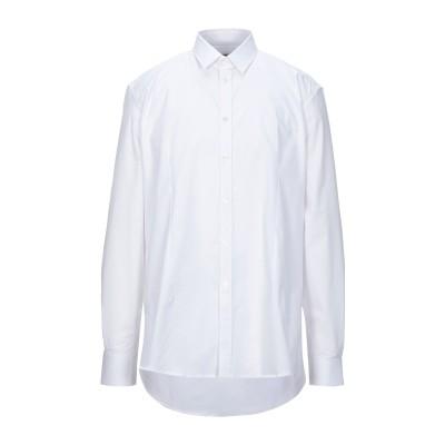 グレイ ダニエレ アレッサンドリーニ GREY DANIELE ALESSANDRINI シャツ ホワイト 40 コットン 97% / ポリウレタン