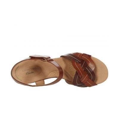 Clarks クラークス レディース 女性用 シューズ 靴 ヒール Giselle Coast - Dark Tan Leather