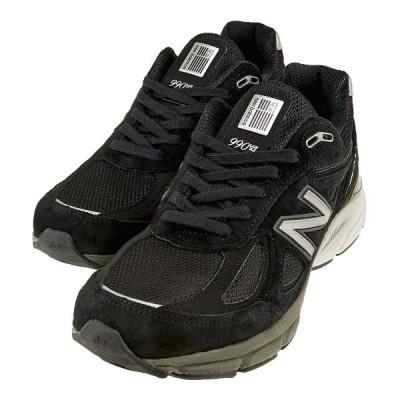 送料無料 new balance ニューバランス M990 BK 4 BL 黒 USA