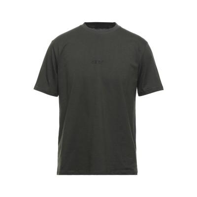 EXTE T シャツ ダークグリーン M コットン 100% T シャツ