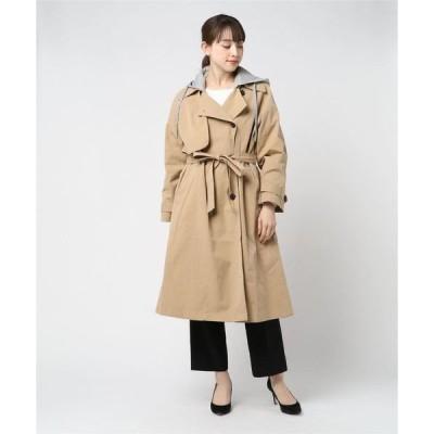 コート トレンチコート Hooded Trench Coat