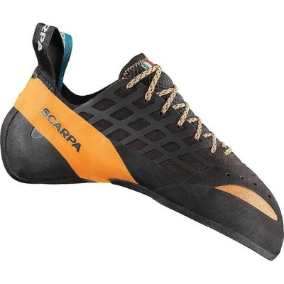 スカルパ Scarpa メンズ クライミング シューズ・靴 Instinct Climbing Shoe Black/Orange