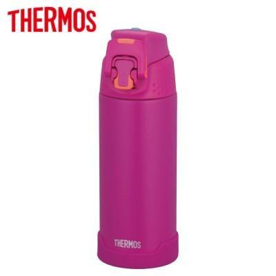 サーモス 水筒 真空断熱スポーツボトル ワンタッチオープン保冷専用 500ml マットパープル FJH-500 MTPL