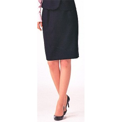 S-15821 タイトスカート(52cm丈) ネイビー 全1色 (セロリー SELERY クレッセ 事務服 制服)
