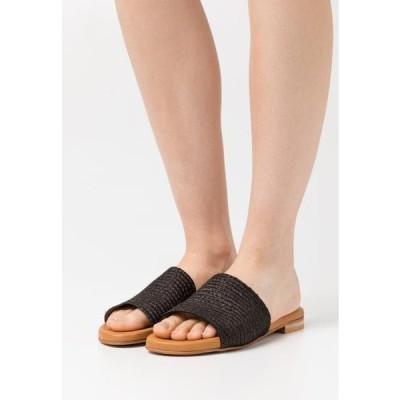 レディース 靴 シューズ Mules - black