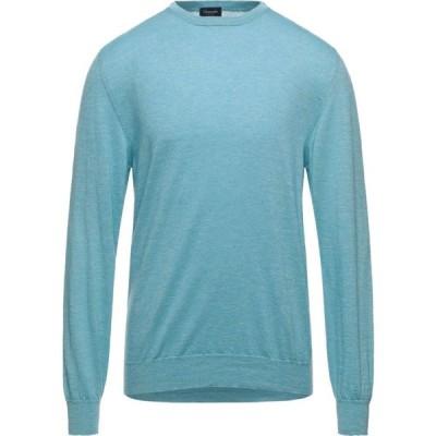 ドルモア DRUMOHR メンズ ニット・セーター トップス Cashmere Blend Sky blue