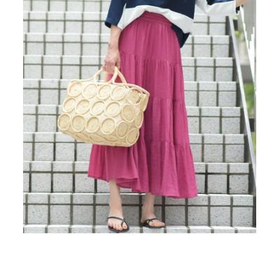 【socolla】【WEB別注】ティアードマキシスカート