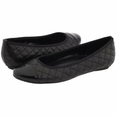 ヴァネリ Vaneli レディース スリッポン・フラット シューズ・靴 Serene Black Nappa/Black Patent