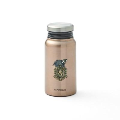 ミルク瓶のような形の保温保冷サーモボトル 400ml ハッフルパフ