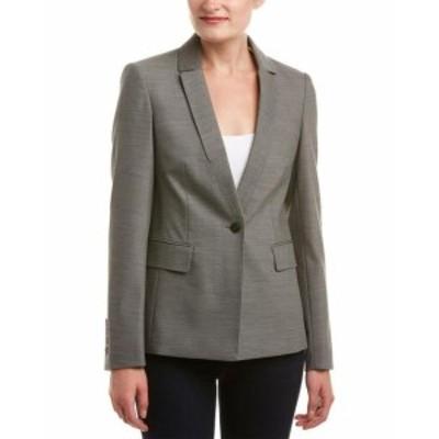 ファッション 衣類 Karen Millen Masculine Tailoring Jacket Us 6 / Uk 10