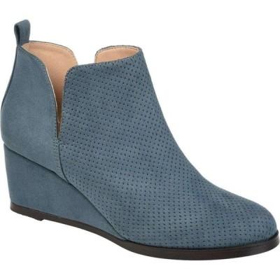 ジュルネ コレクション Journee Collection レディース ブーツ シューズ・靴 Mylee Bootie Blue