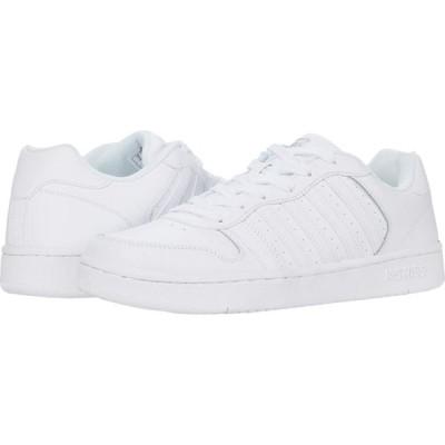ケースイス K-Swiss メンズ スニーカー シューズ・靴 Court Palisades White/Gray