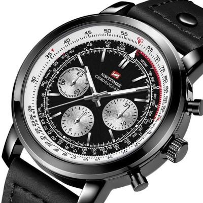 [NO.1]VA VA VOOM VA-207防水屋外メンズ腕時計Nylonレザーバージョンクォーツ時計
