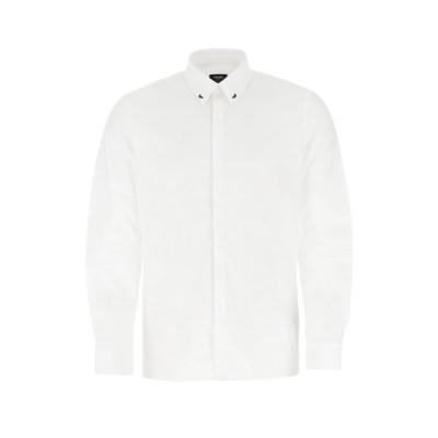 フェンディ メンズ シャツ トップス Fendi Bag Bugs Collar Detail Shirt -