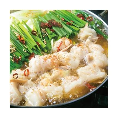 博多もつ鍋セット しょうゆ味 新鮮国産もつ600g使用 メガ盛りもつ鍋セット