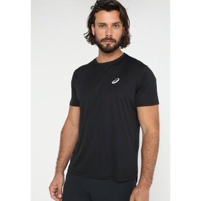 アシックス シャツ メンズ トップス Basic T-shirt - performance black