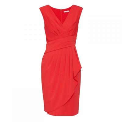 ジーナ バッコーニ Gina Bacconi レディース ワンピース ワンピース・ドレス Doro Moss Crepe Dress Red