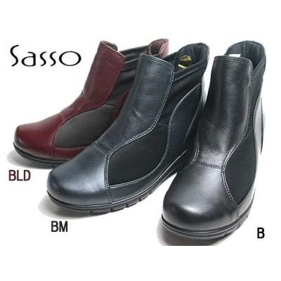 サッソー Sasso ショートブーツ レディース 靴