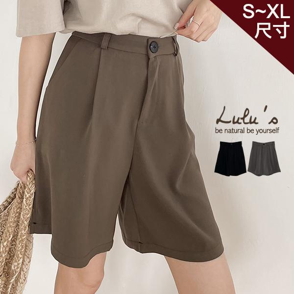 限時下殺【A04210079】Y打摺西裝五分褲S-XL2色
