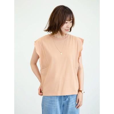 ・SUGAR SPOON フリルノースリTシャツ