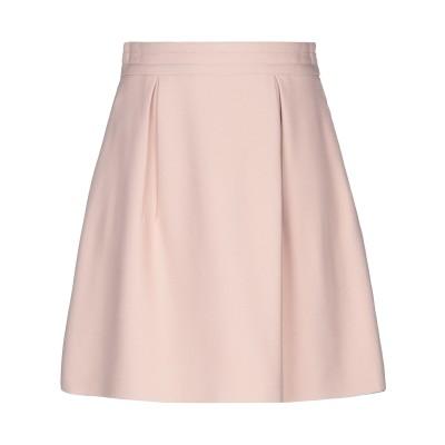 ミュウミュウ MIU MIU ひざ丈スカート ピンク 40 レーヨン 100% ひざ丈スカート