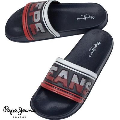 Pepe Jeans ぺぺジーンズ メンズ サンダル SLIDER SWIMMING PMS70072 595 NAVY