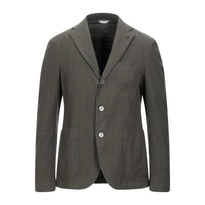 マニュエル リッツ MANUEL RITZ テーラードジャケット ミリタリーグリーン 50 コットン 98% / ポリウレタン 2% テーラードジャ