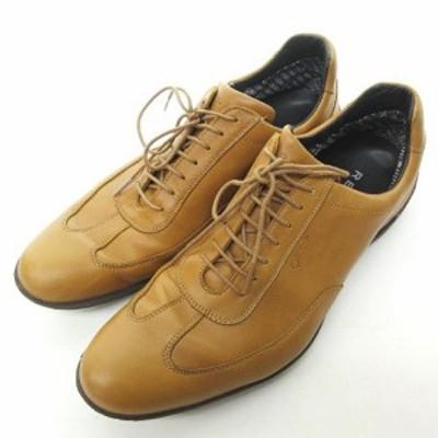 【中古】リーガル REGAL GORE-TEX ビジネス シューズ 革靴 フォーマル ベージュ 27cm 0203 ECR メンズ
