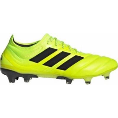アディダス メンズ スニーカー シューズ adidas Men's Copa 19.1 FG Soccer Cleats Yellow/Black
