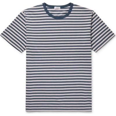 ナナミカ NANAMICA メンズ Tシャツ トップス T-Shirt Slate blue