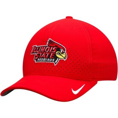ユニセックス スポーツリーグ アメリカ大学スポーツ Illinois State Redbirds Nike Sideline Coaches Classic 99 Flex Hat - Red - OSF