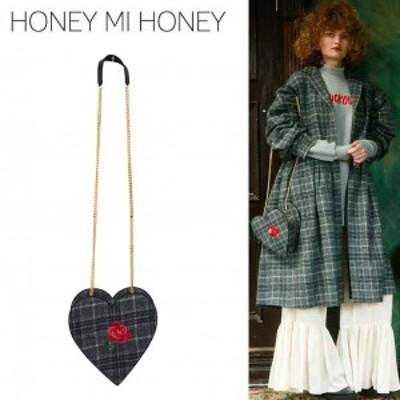 SALE50%OFF Honey mi Honey ハニーミーハニー rose tweed bag ローズツイードバッグ 17a-wv-19