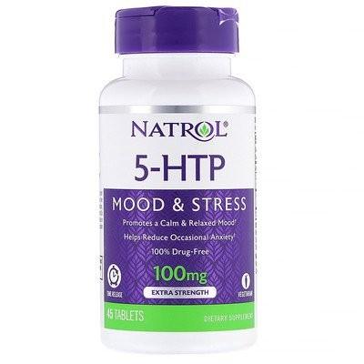 5-HTP、持続放出、強力、100mg、45錠