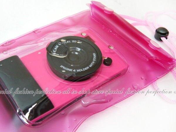 口袋相機防水套 防水袋 手機套 手機袋保護套 iPhone 6S 5.5寸【GN248】  123便利屋