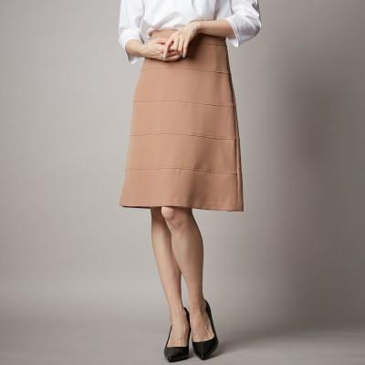 日本製★上質ダブルクロスの5段切替スカート