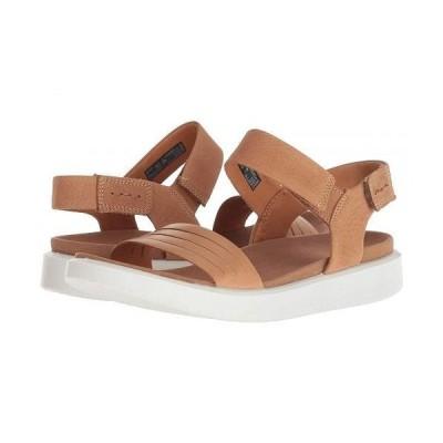 ECCO エコー レディース 女性用 シューズ 靴 サンダル Flowt Strap Sandal - Lion/Cashmere Cow Leather/Cow Nubuck