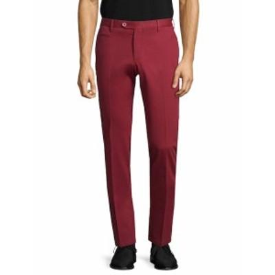 イザイア メンズ パンツ Solid Welted Trousers