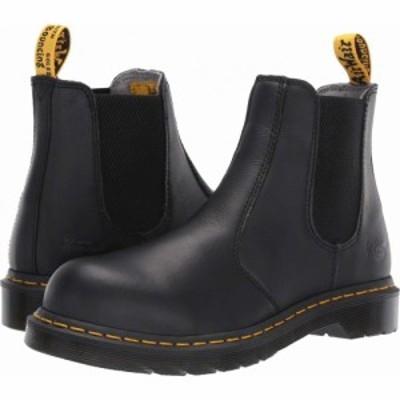 ドクターマーチン Dr. Martens Work レディース ブーツ チェルシーブーツ シューズ・靴 Arbor Steel Toe Chelsea Boot Black