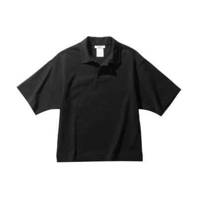 エムエックスピー(MXP) レディース ミディアムドライジャージ ショートスリーブポロ SHORT SLEEVE POLO ブラック MW38152 K ポロシャツ おしゃれ シンプル