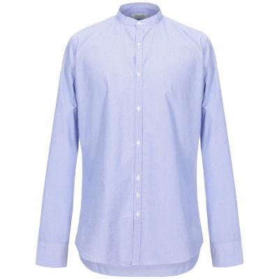 アリーニ AGLINI シャツ スカイブルー 43 コットン 100% シャツ