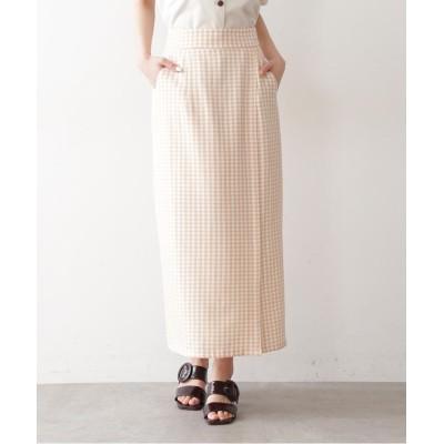 【フリーズマート】 ギンガムチェックタイトスカート レディース ベージュギンガム1 FR FREE'S MART