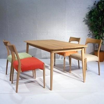 ダイニングテーブル クローバー 140 長方形 テーブルのみ 開梱設置