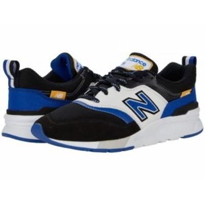 New Balance Classics ニューバランス クラシック メンズ 男性用 シューズ 靴 スニーカー 運動靴 997H Black/Team Royal【送料無料】
